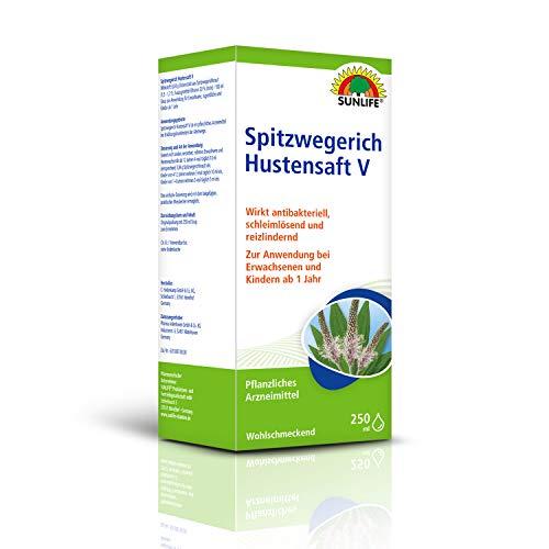 SUNLIFE Spitzwegerich Hustensaft V Sirup zur...