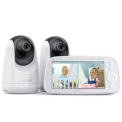 VAVA Babyphone mit teilbarem Bildschirm, 5' 720P...