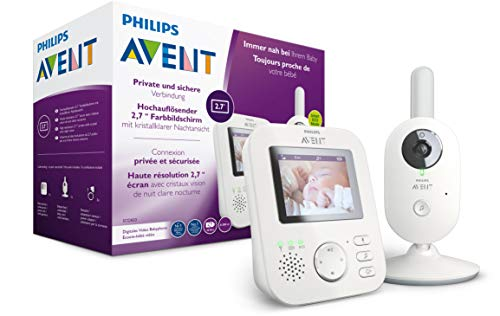 Philips AVENT SCD833/26 Video-Babyphone, 2,7 Zoll...