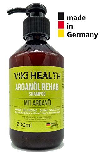 VIKI HEALTH Arganöl Shampoo - ohne Silikone,...