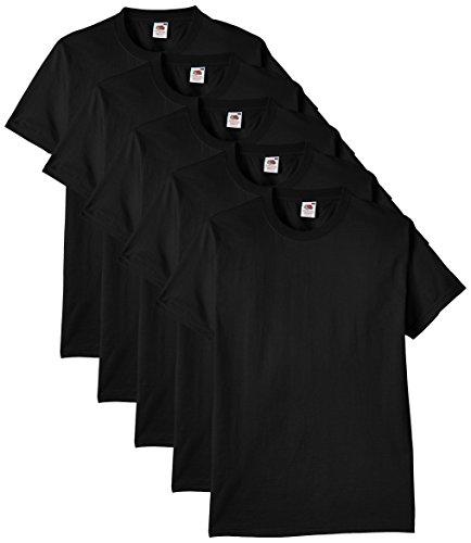 Fruit of the Loom Herren Regular Fit T-Shirt Heavy...