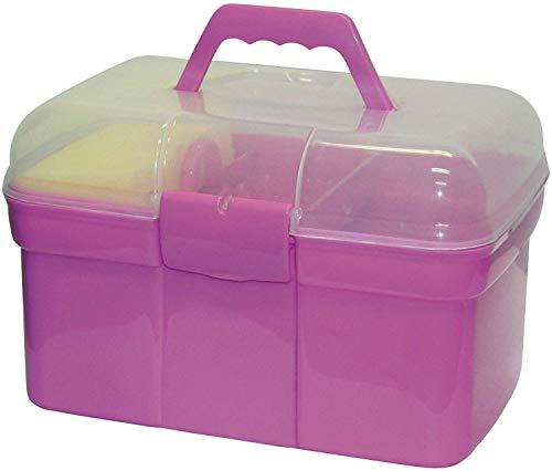 Kerbl 321766 Pferde- Putzbox befüllt für Kinder,...