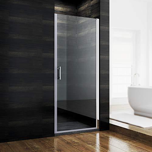 SONNI Duschkabine 90 x 185 cm Nischentür dusche...