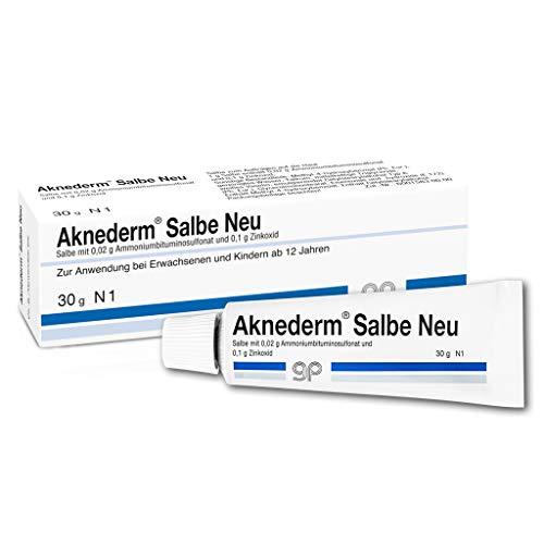 Aknederm Salbe Neu bei Hautunreinheiten, 30 g...
