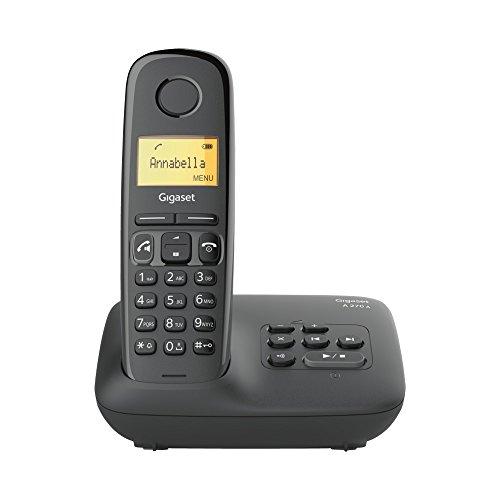 Gigaset A270A Festnetz-Telefon Schwarz schnurlos...