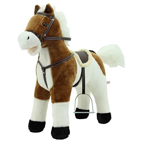 Sweety Toys 12657 Stehpferd Plüsch Pferd beige...
