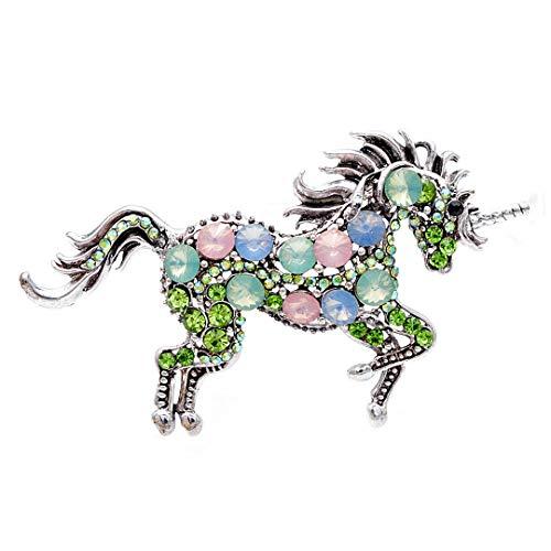 7 Farben wählen Strass Pferde Broschen für...