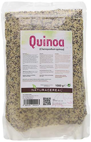 NATURACEREAL Quinoa, bunt (schwarz+weiß+rot),...