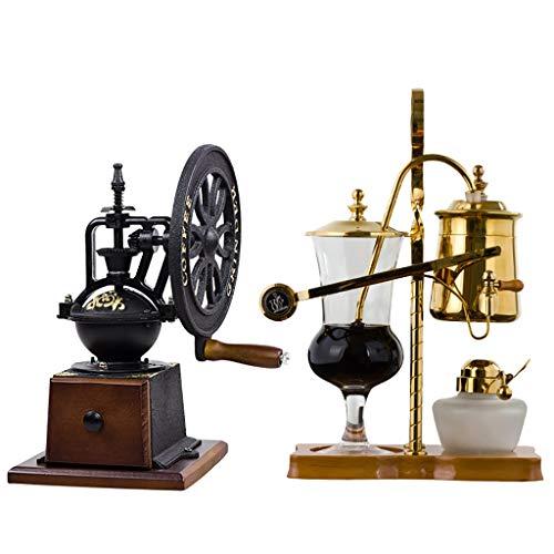 Vakuum-Kaffeebereiter Siphon Kaffeemaschine Set...