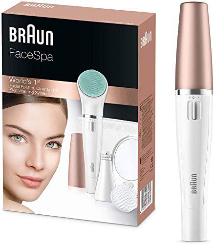 Braun FaceSpa 3-in-1 Gesichtsepilierer und...