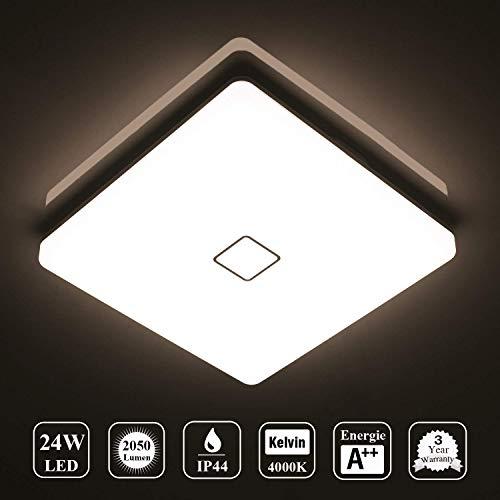 Deckenlampe LED Deckenleuchte Wasserdicht Lampe...