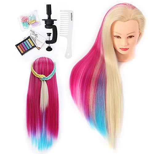 HAIREALM Haargeflecht Frisierkopf DIY Haar Styling...