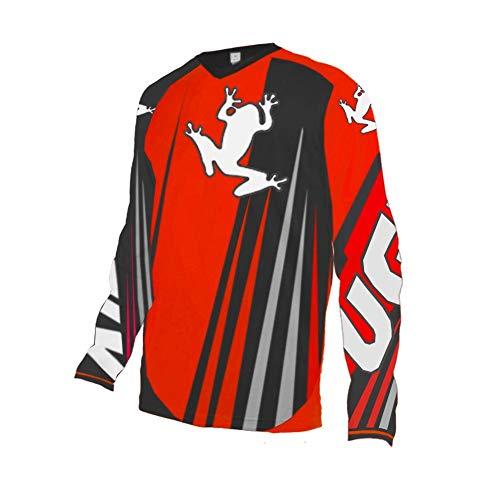 Uglyfrog Designs Bunt Erwachsener Motocross Jersey...