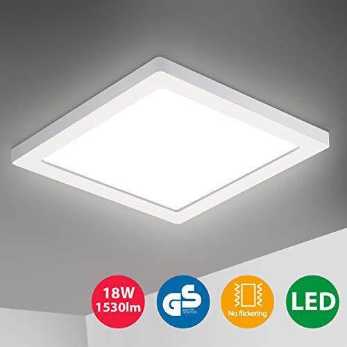 Oeegoo LED Deckenleuchte, 18W 1530LM Led...