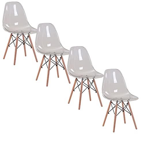 Esszimmerstühle 4/ 6er Set,Stuhl Kunststoff...