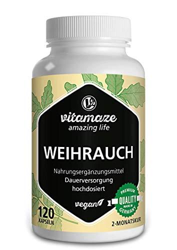Weihrauch Kapseln hochdosiert & vegan, 900 mg...