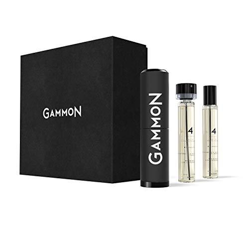 GAMMON 4 - THE BLACK HOODIE, Eau de Performance...