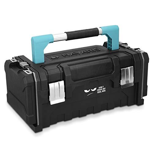 Navaris Werkzeugkoffer 20' Box leer - 51x23x21cm -...