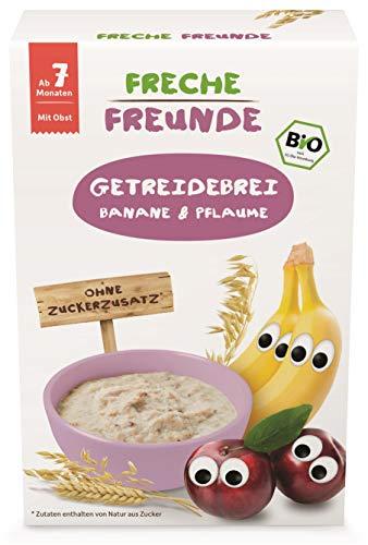 Freche Freunde Bio Feines Porridge Pflaume &...