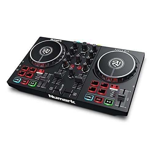 Numark Party Mix II – Einsteiger DJ Controller...
