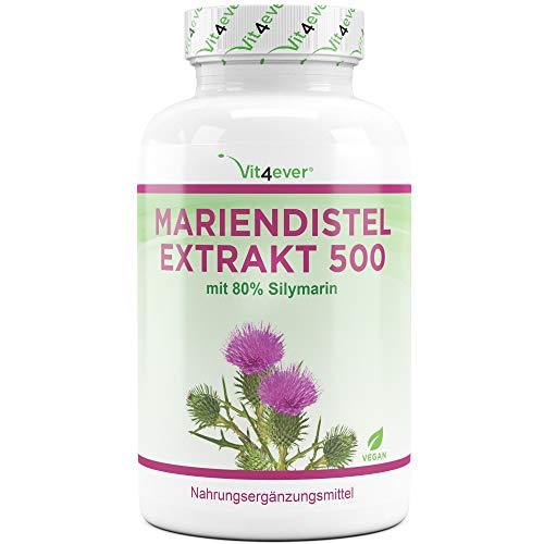Mariendistel Extrakt 180 Kapseln mit je 500 mg -...