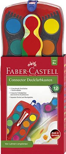 Faber-Castell 125030 - Farbkasten CONNECTOR mit 12...