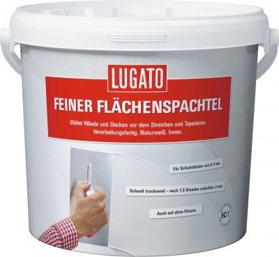 Lugato Feiner Flächenspachtel 5 kg - Glättet...