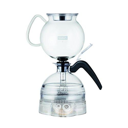 Bodum ePebo Elektrischer Vakuum kaffeebereiter, 8...