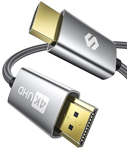 4K HDMI-Kabel 2Meter, HDMI 2.0-Kabel 4K HDR,...