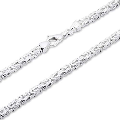 925 Silberkette: Königskette Silber 4,5mm breit -...