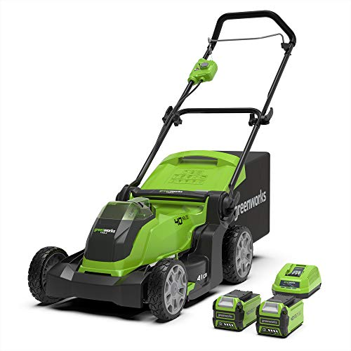 Greenworks Tools G40LM41K2X Rasenmäher 2in1...