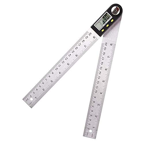 FIXKIT Digitaler Winkelmesser Schmiege mit LCD...