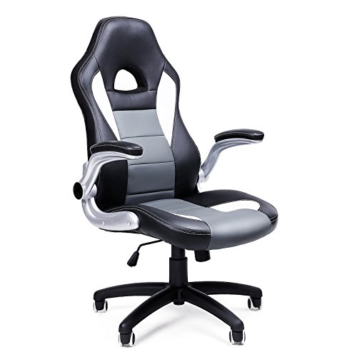SONGMICS Gamingstuhl, Racing Chair,...