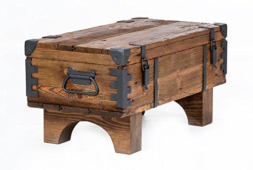Alte Truhe Kiste Tisch shabby chic Holz...