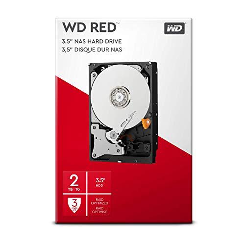 WD Red 2TB interne Festplatte SATA 6Gb/s 64MB...