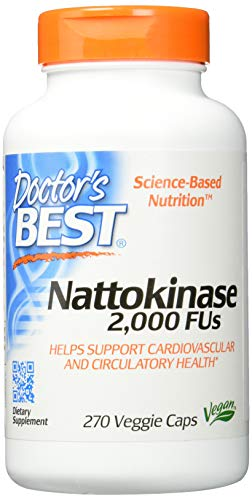 Doctor's Best, Nattokinase, 2000 FUs, 270...