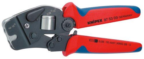 KNIPEX 97 53 09 Selbsteinstellende Crimpzange für...