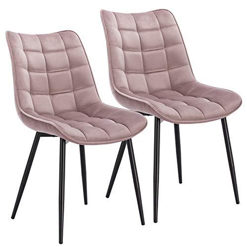 WOLTU® Esszimmerstühle BH142rs-2 2er Set...