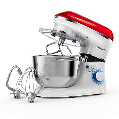 Küchenmaschine Knetmaschine FREIHAFEN 5.5L...