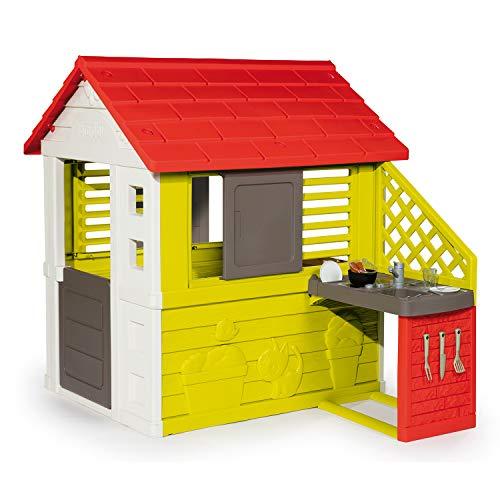 Smoby Casa 810713 Nature II mit Küche und...