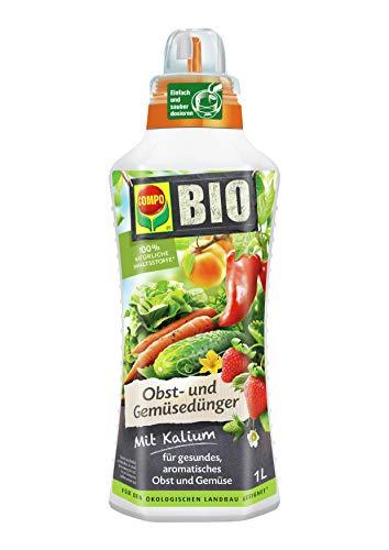 COMPO BIO Obst- und Gemüsedünger für alle Obst-...