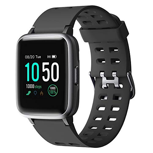 YAMAY Smartwatch,Fitness Armband Uhr Voller Touch...