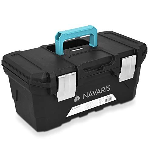 Navaris Werkzeugkasten 16' Box leer - 40,6 x 22,1...