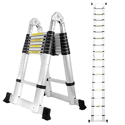 Hengda 5M Teleskopleiter, Ausziehbare Leiter...