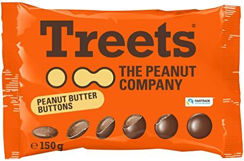Treets Peanut Butter Buttons, 150g
