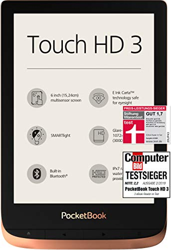 PocketBook e-Book Reader 'Touch HD 3' (16 GB...
