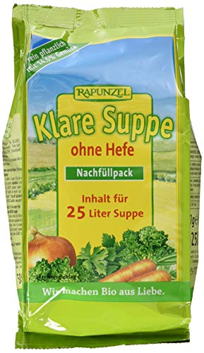 Rapunzel Klare Suppe ohne Hefe Nachfüllpack, 1er...