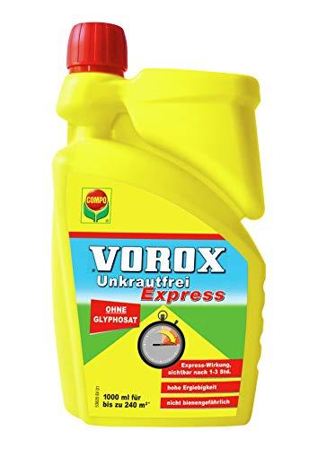 VOROX Unkrautfrei Express, Bekämpfung von...