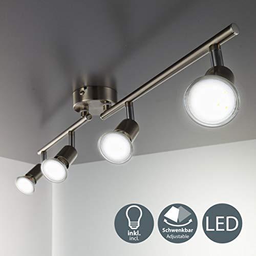 LED Deckenleuchte Schwenkbar Inkl. 4 x 3W...