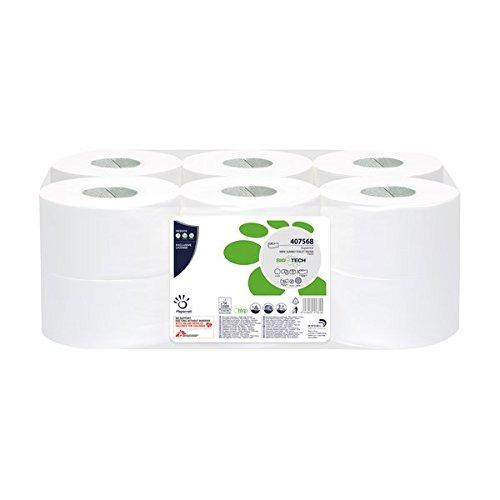 Papernet 407568Biotech Toilettenpapier, Mini...